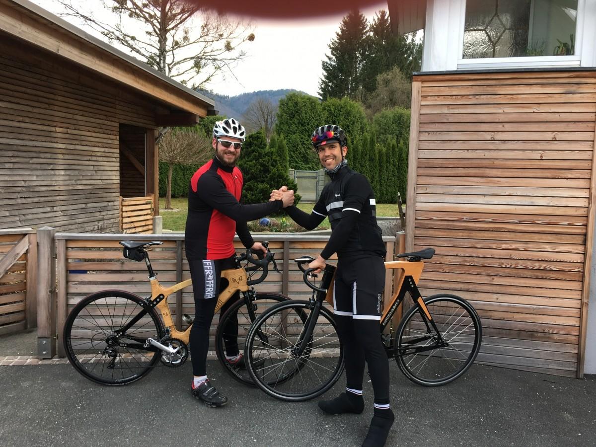 Singlespeed fahrrad in gemeinde ramsau am dachstein