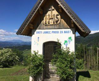 Bildstock an der Kreuzung bei Remsnik nach Sveti Janez