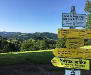Blick vom Ruckendorfer/Pronintsch nach Süden